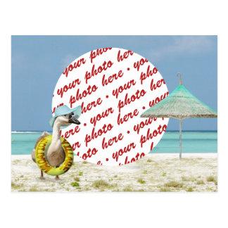¡Tiempo de vacaciones! Marco de la foto Postal