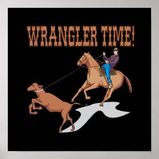 Tiempo de Wrangler Posters