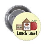 Tiempo del almuerzo pins