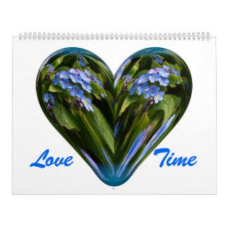 Tiempo del amor calendario