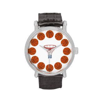 Tiempo del baloncesto relojes