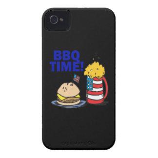 Tiempo del Bbq iPhone 4 Case-Mate Protector
