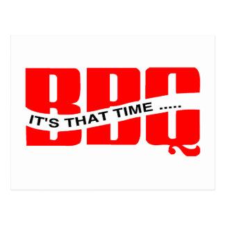 Tiempo del Bbq Postal
