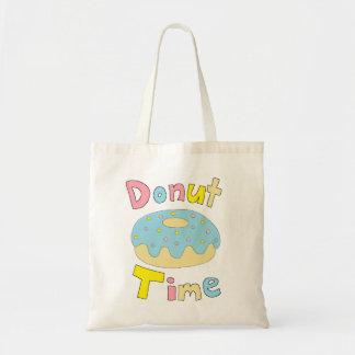 Tiempo del buñuelo bolsas de mano
