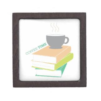 Tiempo del café cajas de regalo de calidad