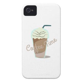 Tiempo del café iPhone 4 cobertura