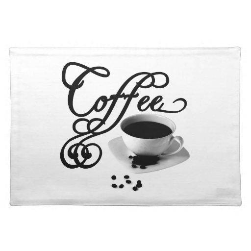 Tiempo del café mantel