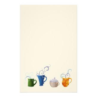 Tiempo del café papelería personalizada