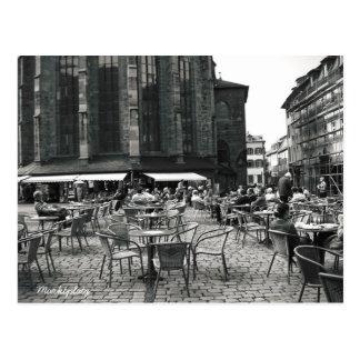 Tiempo del café tarjeta postal