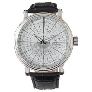 Tiempo del calendario relojes de pulsera