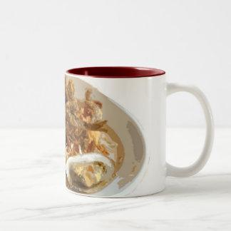 Tiempo del camarón tazas de café