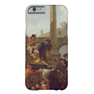 Tiempo del carnaval en Roma 1653 aceite en lona