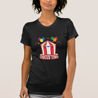 Tiempo del circo camiseta
