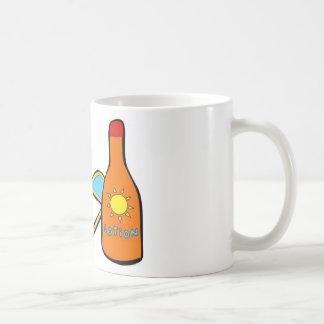 Tiempo del día de fiesta tazas de café