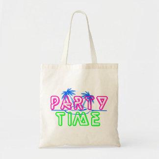 Tiempo del fiesta bolsa tela barata