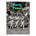 ¡Tiempo del fiesta! Felicitación