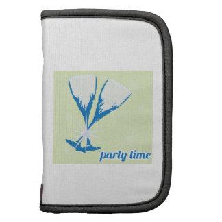Tiempo del fiesta planificadores