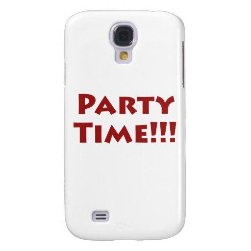 ¡Tiempo del fiesta! Funda Para Galaxy S4