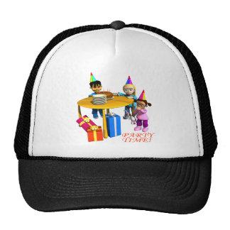 Tiempo del fiesta gorra