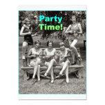 ¡Tiempo del fiesta! Invitación 12,7 X 17,8 Cm