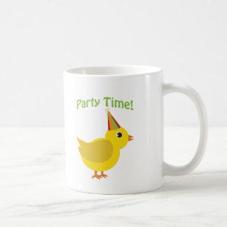 ¡Tiempo del fiesta! Polluelo Taza