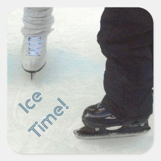 Tiempo del hielo Pegatinas