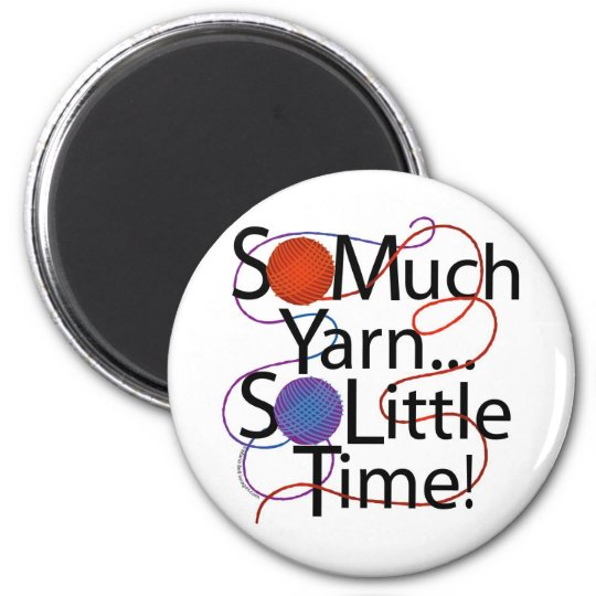 Tiempo del hilado imán redondo 5 cm