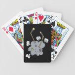Tiempo del hockey baraja cartas de poker
