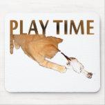 Tiempo del juego - Mousepad Alfombrilla De Ratones