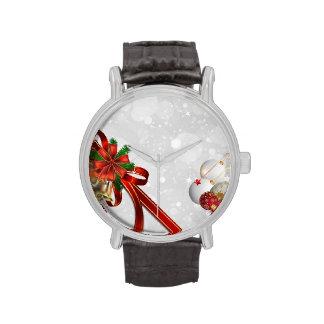 Tiempo del navidad relojes de mano