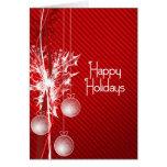 Tiempo del navidad tarjetas