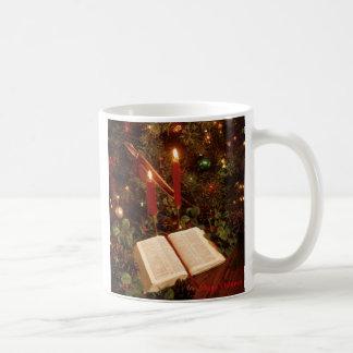 Tiempo del navidad tazas de café