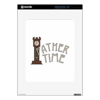 Tiempo del padre calcomanías para el iPad