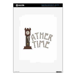 Tiempo del padre iPad 3 skin