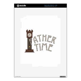 Tiempo del padre skin para el iPad 2