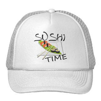 Tiempo del sushi gorro de camionero