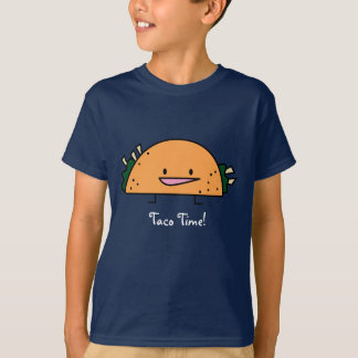¡Tiempo del Taco! - Camiseta de los niños