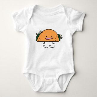 ¡Tiempo del Taco! - Mono del bebé Remera