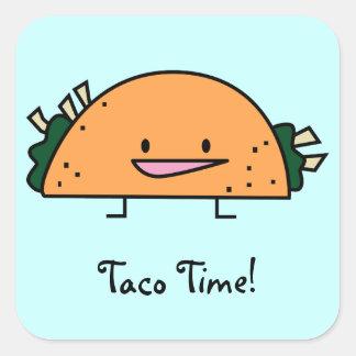 ¡Tiempo del Taco! pegatina
