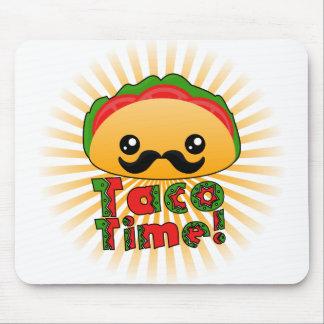 Tiempo del Taco Tapetes De Ratones