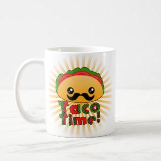 Tiempo del Taco Taza Básica Blanca