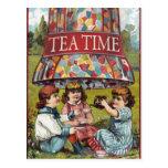 Tiempo del té postales