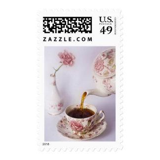 Tiempo del té sello