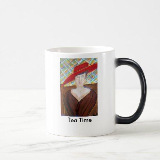 Tiempo del té taza mágica