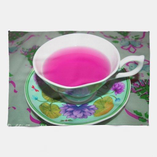 Tiempo del té toalla