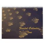 Tiempo del tiempo del calendario del fractal