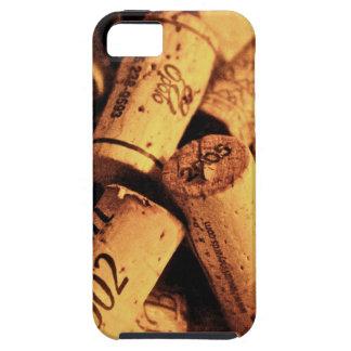 Tiempo del vino iPhone 5 Case-Mate funda