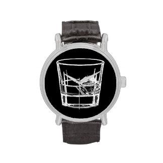 Tiempo del whisky reloj de mano