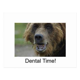 ¡Tiempo dental! Postales