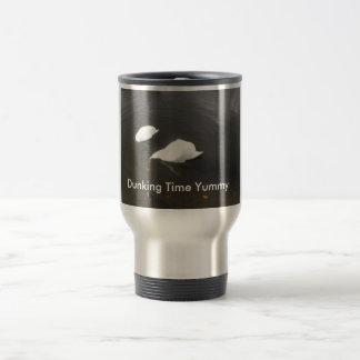 Tiempo Dunking delicioso Taza De Viaje De Acero Inoxidable